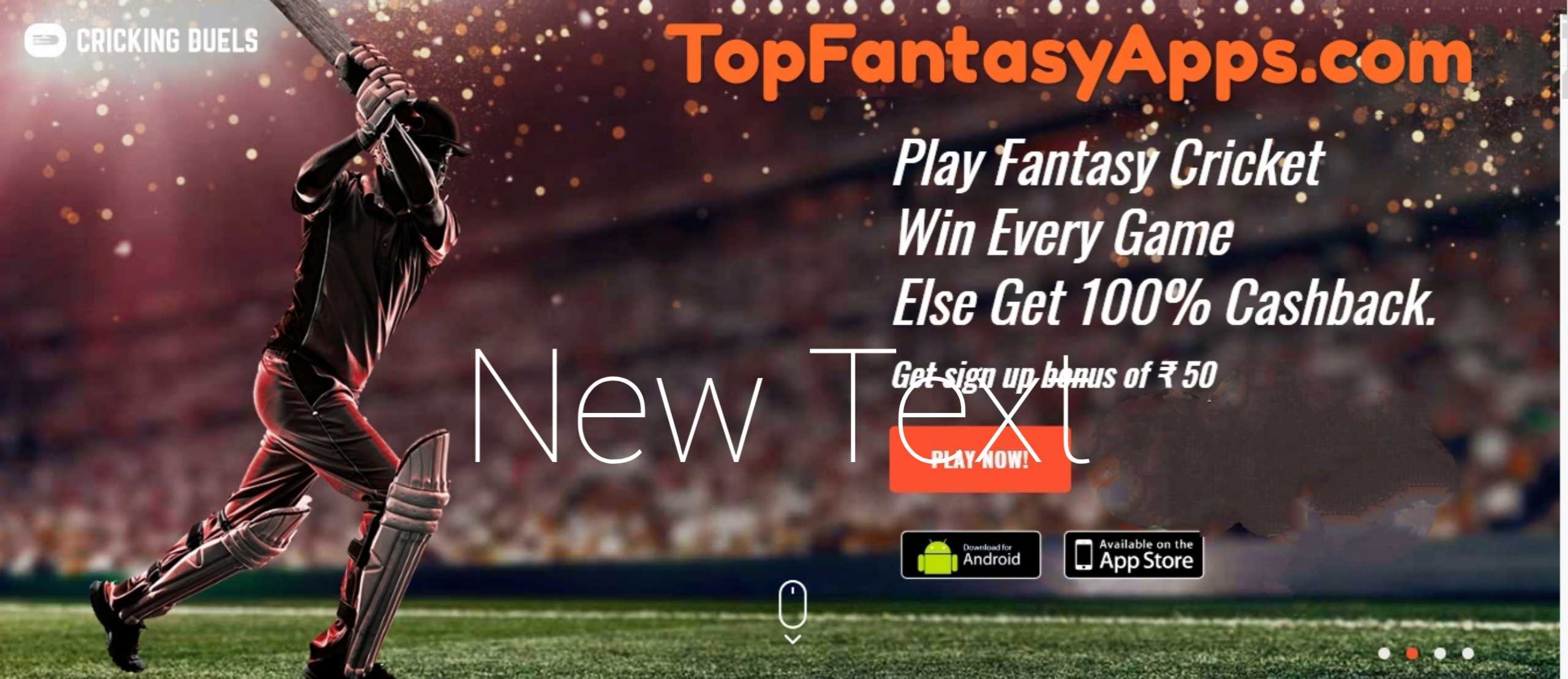 Cricking Duel | Top Fantasy Apps