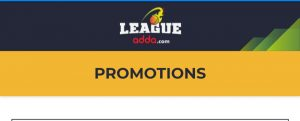LeagueAdda Promo Codes & Offers: