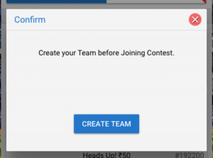 How To Create Your Fantasy Team?
