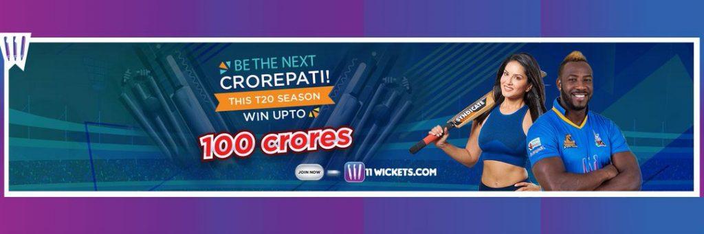 11Wickets Fantasy Cricket App Downoad