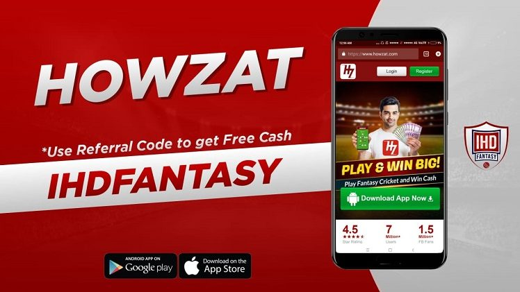howzat fantasy refer code