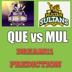 QUE-vs-MUL-Dream11-Team-Prediction