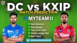 DC vs KXIP MyTeam11 Fantasy Team Prediction IPL 2nd Match 2020