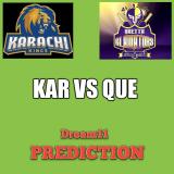 KAR vs QUE Dream11 Team Prediction PSL 30th Match