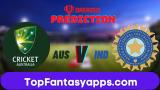 AUS vs IND Dream11 Team Prediction Today's ODI Match, India Tour Of Australia