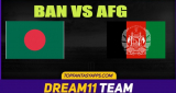BAN Vs AFG Final T20 Match Dream11 Team Predictions, 100% Winning