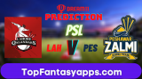 LAH vs PES Dream11 Team Prediction 1st Eliminator PSL 2020 (100% Winning)