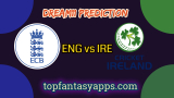 ENG vs IRE Dream11 Team Prediction For 3rd ODI Ireland tour of England