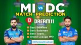 MI Vs DC Dream11 Team Prediction 13th Match IPL 2021 (100% Winning Team)