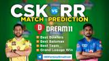 RR vs CSK Dream11 Team Prediction 12th Match IPL 2021 (100% Winning Team)
