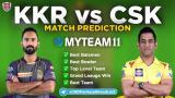 KKR vs CSK MyTeam11 Fantasy Team Prediction Match-21 IPL 2020