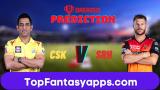 SRH vs CSK Dream11 Team Prediction 29th Match IPL 2020 (100% Winning Team)