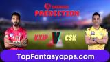 CSK vs KXIP Dream11 Team Prediction 53rd Match IPL 2020 (100% Winning Team)