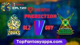 GUY vs SLZ Dream11 Team Prediction For 2nd Semi-Final CPL 2020 (100% Winning Team)