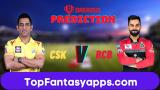 RCB vs CSK Dream11 Team Prediction 44th Match IPL 2020 (100% Winning Team)