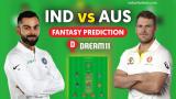 AUS vs IND Dream11 Team Prediction 4th Test Match Details