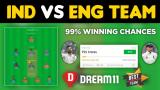 IND vs ENG Dream11 Team Prediction 1st Test Match Details