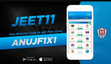 Jeet11 Referral Code [ANUJF1X1]: Get Rs 30 On Signup/Refer