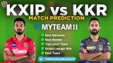 KXIP vs KKR MyTeam11 Fantasy Team Prediction Match-24 IPL 2020