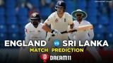 SL vs ENG Dream11 Team Prediction 2nd Test Match Details