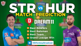 HUR vs STR Dream11 Team Prediction Match-8 BBL 2020-21